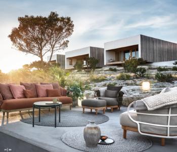 Gloster ja Dedon 2020 kataloogid / terrassi-, aia- ja SPA mööbel koos lisanditega.