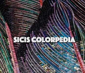 SICIS Art of Mosaics - MiIano Mess 2019, Vetrite koduleht,  Garuda Wisnu Statue - Indonesia, uudistoode: GemStone, Crystal Mosaics Collection, Basseinide mosaiigid, Meamorfism ja Colorpedia - 900 värvitooni 16 kollektsiooni