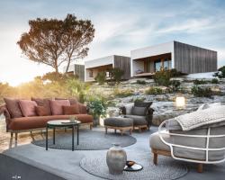 Gloster 2019 kataloog / terrassi-, aia- ja SPA mööbel koos lisanditega.
