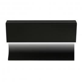 Led valgusti võimalusega põrandaliist valge ja must matt