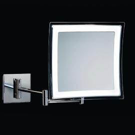 5x suurendusega LED valgustusega peegel
